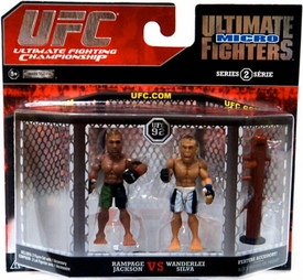 UFC Jakks Pacific Series 2 Ultimate Fighters Micro Figure 2-Pack Quinton