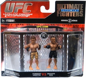 UFC Jakks Pacific Series 2 Ultimate Fighters Micro Figure 2-Pack Forrest Griffin vs. Mauricio