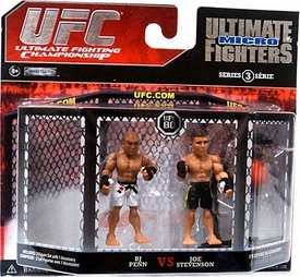 UFC Jakks Pacific Series 3 Ultimate Fighters Micro Figure 2-Pack BJ Penn vs. Joe Stevenson