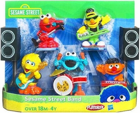 Playskool Exclusive Playset Sesame Street Band [Ernie, Bert, Elmo, Big Bird & Cookie Monster]
