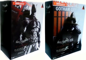 Batman Arkham City Series 2 Set of Both Square Enix Play Arts Kai Action Figures [Batman Dark Knight Skin & Robin]