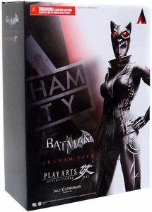 Batman Arkham City Square Enix Play Arts Kai Series 1 Action Figure Catwoman