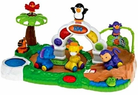Fisher-Price Amazing Animals Spinnin' Around Musical Zoo