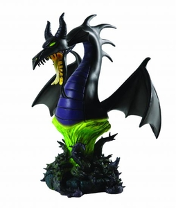 Sleeping Beauty Grand Jester Mini-Bust Maleficent as Dragon Pre-Order ships March