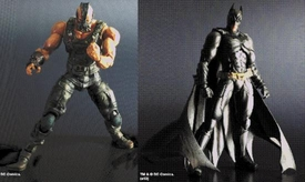 Dark Knight Rises Square Enix Play Arts Kai Set of Both Series 1 Action Figures [Batman & Bane]