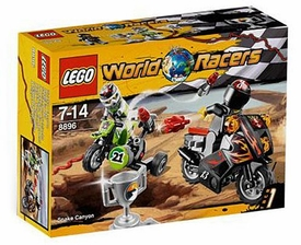 LEGO World Racers Set #8896 Snake Canyon