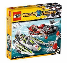 LEGO World Racers Set #8897 Jagged Jaw Reef
