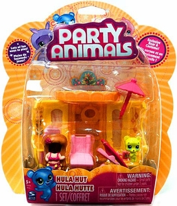Party Animals Playset Hula Hut