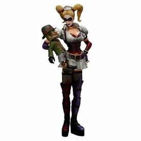 Batman Arkham Asylum Square Enix Play Arts Kai Series 2 Action Figure Harley Quinn