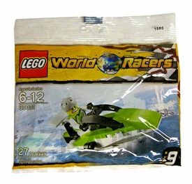 LEGO World Racers Mini Figure Set #30031 Powerboat [Bagged]