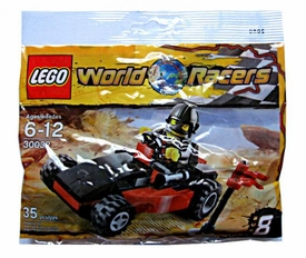 LEGO World Racers Mini Figure Set #30032 World Race Buggy [Bagged]
