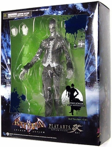 Batman Arkham ASYLUM Square Enix Play Arts Kai Exclusive SDCC 2012 Action Figure The Joker