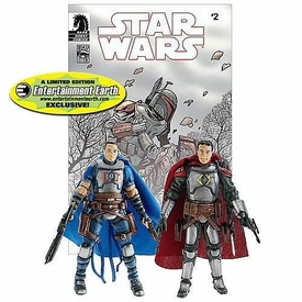 Star Wars Exclusive Comic Book Action Figure 2-Pack Dark Horse: Montross & Jaster Mereel