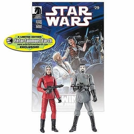 Star Wars Exclusive Comic Book Action Figure 2-Pack Dark Horse: Baron Soontir Fel & Ysanne Isard