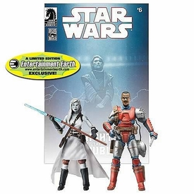Star Wars Exclusive Comic Book Action Figure 2-Pack Dark Horse: Jarael & Rohlan Dyre