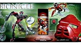 LEGO Bionicle Limited Edition Collector Pack Set #65716 Visorak Vohtarak, Sidorak & Toa Hordika Mask