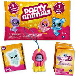Party Animals Single FOIL Figure Pack [1 Random Bear & 1 Random Costume]