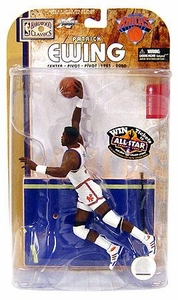 McFarlane Toys NBA Sports Picks Legends Series 4 Action Figure Patrick Ewing (New York Knicks) White Jersey