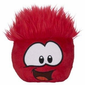 Disney Club Penguin 4 Inch Series 7 Puffle Party Plush Red [Includes Coin with Code!]
