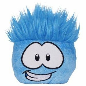 Disney Club Penguin 4 Inch Series 7 Puffle Party Plush Blue [Includes Coin with Code!]