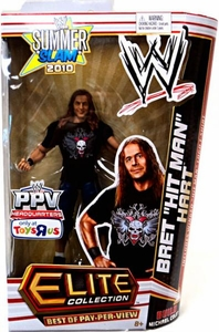 Mattel WWE Wrestling Exclusive Elite Summer Slam 2010 Best of Pay Per View Action Figure Bret