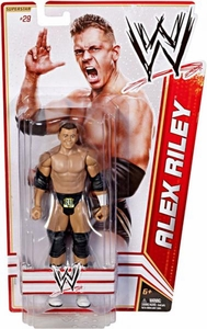 Mattel WWE Wrestling Basic Series 17 Action Figure #29 Alex Riley