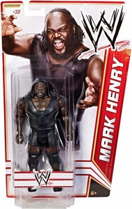 Mattel WWE Wrestling Basic Series 17 Action Figure #30 Mark Henry