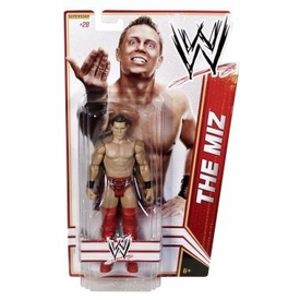 Mattel WWE Wrestling Basic Series 17 Action Figure #28 The Miz
