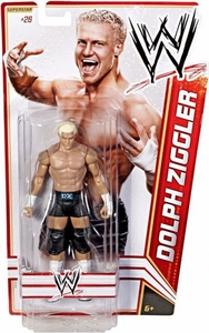 Mattel WWE Wrestling Basic Series 17 Action Figure #26 Dolph Ziggler BLOWOUT SALE!