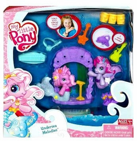 My Little Pony Ponyville Pack Playset Undersea Melodies