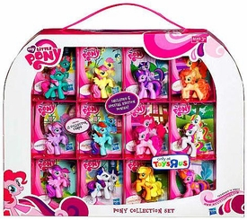 My Little Pony Friendship is Magic Exclusive 12-Piece Pony Collection Set [Includes 6 Special Edition Ponies!]