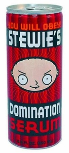 Energy Drink Family Guy Stewie's Domination Serum