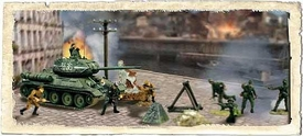 Forces of Valor 1:72 Scale Battle Extreme Series Russian T34/85 & Soliders
