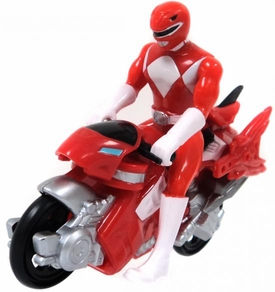 Power Rangers Mighty Morphin LOOSE Mini Red Dino Cycle