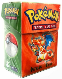 Pokemon Card Supplies Deck Box with Sleeves Charizard [Orange]
