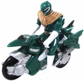 Power Rangers Mighty Morphin LOOSE Mini Green Dino Cycle