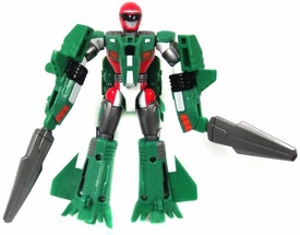 Power Rangers Operation Overdrive Mach Morphin Turbo Drill LOOSE Action Figure Green Ranger