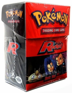 Pokemon Card Supplies Deck Box with Sleeves Team Rocket [Red]