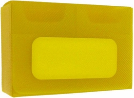 Dragon Armor Card Supplies Yellow Double Deck Box