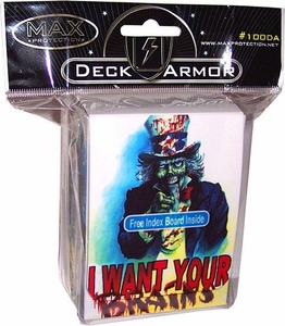 Max Protection Card Supplies Deck Box Brains