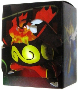 Pokemon JAPANESE Black & White Card Supplies Emboar, Serperior & Samurott Deck Box