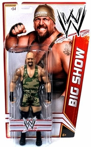 Mattel WWE Wrestling Basic Series 21 Action Figure #54 Big Show BLOWOUT SALE!