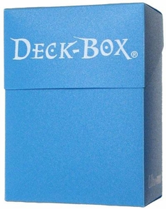 Ultra Pro Card Supplies Light Blue Deck Box