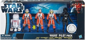 Star Wars 2012 Clone Wars Exclusive Battle Pack Yavin Pilots [Tiree, Jek Porkins, R5-D8, Davish Krail & Mauler Mithel]