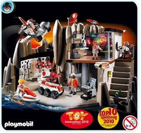 Playmobil Top Agent Set #4875 Secret Agent Headquarters with Alarm System