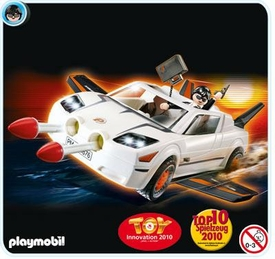 Playmobil Top Agent Set #4876 Secret Agent Super Racer