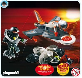 Playmobil Top Agent Set #4877 Detection Jet