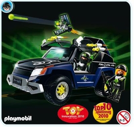 Playmobil Top Agent Set #4878 Robo Gang Truck