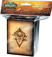 Ultra Pro World of Warcraft WoW Card Supplies Neutral Deck Box