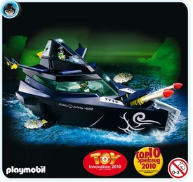 Playmobil Top Agent Set #4882 Battle Yacht